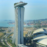 View on Singapore Flyer Royalty Free Stock Images