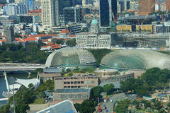 View on Singapore Flyer Royalty Free Stock Image