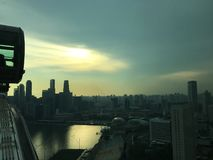 Singapore Flyer royalty free stock images