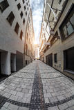 View the Singlspielerstrasse street Royalty Free Stock Images