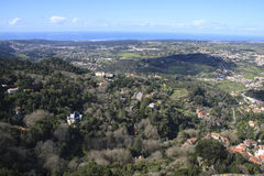 View from Sintra Royalty Free Stock Photo