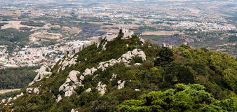 View on Sintra, Portugal Royalty Free Stock Photo