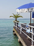 View from Sirmione Lake Garda Italy Royalty Free Stock Photo
