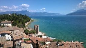 Sirmione. View of Sirmione Stock Photography