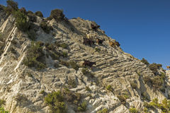 View of Sithonia Landscape, Chalkidiki,  Sithonia, Central Macedonia Royalty Free Stock Images