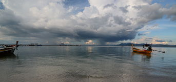 View from Sivalai beach. Koh Mook. Thailand Stock Images