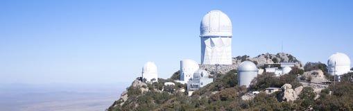 A View of Six Telescopes Atop Kitt Peak