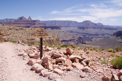 View from Skeleton Point in the Grand Canyon Royalty Free Stock Image