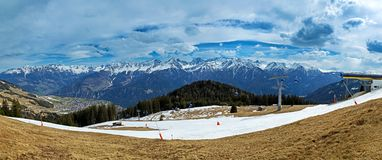 Serfaus in Tyrol Royalty Free Stock Photography