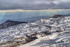 Etna volcano. sky resort Stock Images