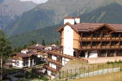 View of the ski resort in Sochi. Royalty Free Stock Photo