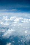 A view of the skies. A view of the clouds from above Royalty Free Stock Photo
