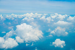 View of sky with beautiful clouds Royalty Free Stock Photo