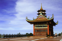 View on sky Chin Swee temple Stock Photography