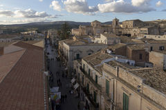 View sky from Noto City Royalty Free Stock Image