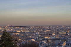 View from the sky of paris Royalty Free Stock Photography