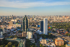 View of Skyline in Bangkok Stock Image