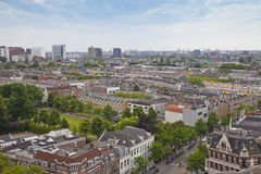 View at skyline of Rotterdam Royalty Free Stock Photography