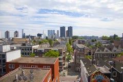View at skyline of Rotterdam Stock Image