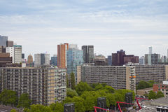 View at skyline of Rotterdam, The Netherlands Stock Images