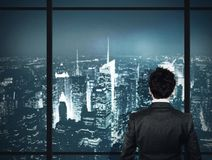 View of skyscrapers Royalty Free Stock Photography