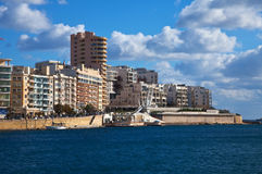 View of Sliema Stock Image