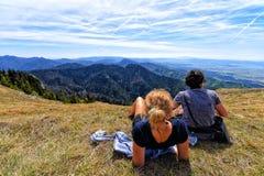 Slovak Landscape. View of Slovak National Park Veľká Fatra stock photos