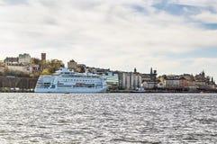 View of Slussen, Stockholm Royalty Free Stock Image