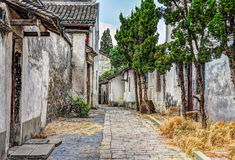 View of small ancient village Royalty Free Stock Photos