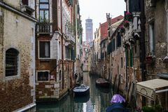 Canals in Venice 2 stock image