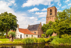 View at the small Dutch village of Ransdorp Stock Photos