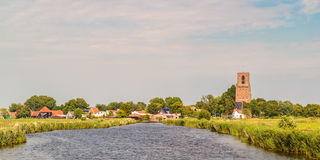 View at the small Dutch village of Ransdorp Royalty Free Stock Photography
