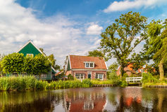View at the small Dutch village of Ransdorp Royalty Free Stock Image