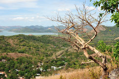 View on the small islands of Philippines Royalty Free Stock Images
