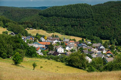 View Of Small Picturesque Village In Germany. Europe stock images