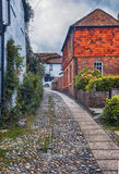 View at small street in Rye,  UK Stock Photography