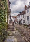 View at small street in Rye, UK Stock Image