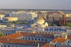 View of the Smithsonian from the Old Post Office, Washington, DC Royalty Free Stock Photography