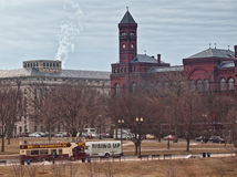 View of the Smithsonian Stock Image