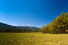 View on Smoky Mountains from Cades Cove Stock Image