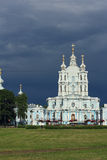 View of the Smolny Cathedral. Stock Photography