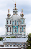 View on Smolnyi .St. Petersburg Stock Image
