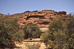View of Snow Canyon Royalty Free Stock Image