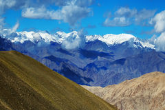 View of snow peaks, Leh ladakh  Jammu and Kashmir, India Stock Images