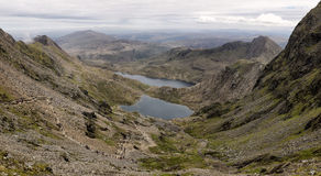 View from Snowdon Stock Images