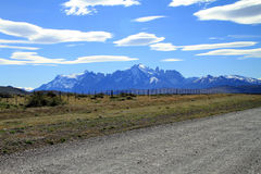 Patagonia Rural Scenery Royalty Free Stock Images