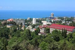 View on Sochi Royalty Free Stock Images