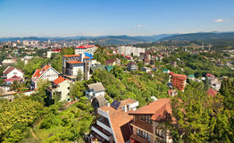 View of Sochi city. Stock Photos