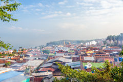 View of Socorro, Colombia Royalty Free Stock Images