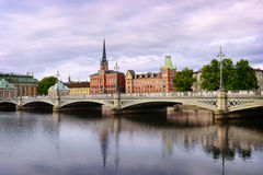View on Sodermalm district. Stockholm. Sweden Royalty Free Stock Photos